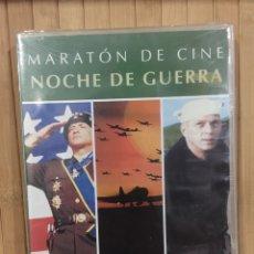 Cine: MARATÓN DE GUERRA NOCHE DE GUERRA DVD - PRECINTADO -. Lote 288093108