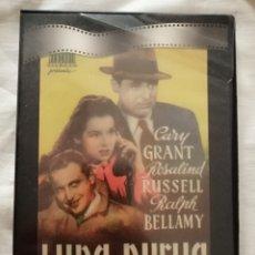 Cine: DVD LUNA NUEVA - HOWARD HAWKS - CARY GRANT - ROSALIND RUSSELL - RALPH BELLAMY. Lote 288181248