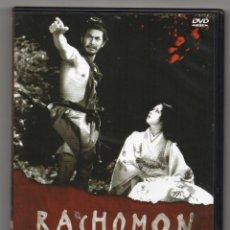 Cine: RASHOMON. DVD. AKIRA KUROSAWA. Lote 288226343