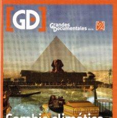 Cinema: CAMBIO CLIMÁTICO. ANTIGUO EGIPTO. DOCUMENTAL DVD. 1 DISCO. DURACIÓN: 50 MINUTOS.. Lote 288353448