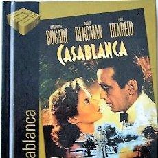 Cine: CASABLANCA - MICHAEL CURTIZ - DISCO LIBRO. Lote 288412883