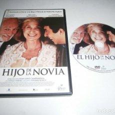 Cine: EL HIJO DE LA NOVIA DVD RICARDO DARIN HECTOR ALTEIRO. Lote 288413368