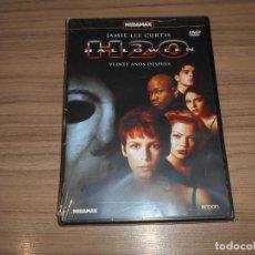 Cine: HALLOWEEN H20 DVD JAMIE LEE CURTIS NUEVA PRECINTADA. Lote 288578878