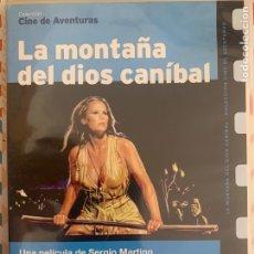 Cine: LA MONTAÑA DEL DIOS CANIBAL. Lote 288583533