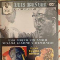 Cine: UNA MUJER SIN AMOR/ SUSANA CARNE Y DEMONIO (LUIS BUÑUEL). Lote 288584443