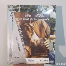 Cine: AL FINAL DE LA ESCAPADA. JEAN-LUC GODARD. EL PAIS Nº 14 DVD + LIBRO. PRECINTADO.. Lote 288584748