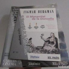 Cine: EL MANANTIAL DE LA DONCELLA. INGMAR BERGMAN. EL PAIS Nº 11. DVD + LIBRO. PRECINTADO.. Lote 288584768