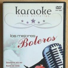 Cine: TODODVD: KARAOKE CINCO ESTRELLAS. LOS MEJORES BOLEROS (KARAOKE TOTAL). Lote 288586113