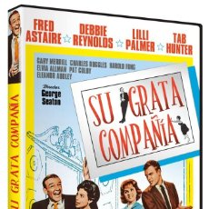 Cine: SU GRATA COMPAÑIA (FRED ASTAIRE, DEBBIE REYNOLDS) - DVD NUEVO Y PRECINTADO. Lote 288607283