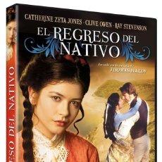 Cine: EL REGRESO DEL NATIVO (CATHERINE ZETA JONES, CLIVE OWEN) - DVD NUEVO Y PRECINTADO. Lote 288608168