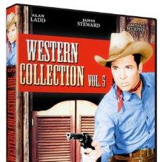 Cine: WESTERN COLLECION VOL5 (LOS TALADORES, COLORADO JIM, EL HOMBRE DE LARAMIE...) - 6 PELICULAS. NUEVO. Lote 288608808