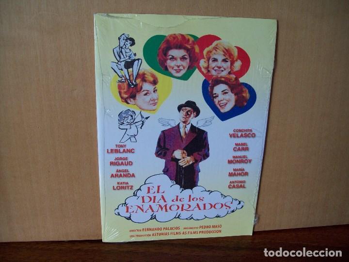 EL DIA DE LOS ENAMORADOS - TONY LEBLANC -CONCHITA VELASCO - DVD ESTUCHE CARTON PRECINTADO (Cine - Películas - DVD)