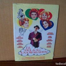 Cine: EL DIA DE LOS ENAMORADOS - TONY LEBLANC -CONCHITA VELASCO - DVD ESTUCHE CARTON PRECINTADO. Lote 288641783