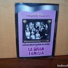 Cine: LA GRAN FAMILIA - ALBERTO CLOSAS - DIRIGE FERNANDO PALACIOS - DVD ESTUCHE DE CARTON PRECINTA. Lote 288642368
