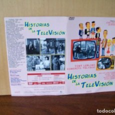 Cine: HISTORIAS DE LA TELEVISION - TONY LEBLANC - CONCHITA VELASCO - DVD ESTUCHE DE CARTON. Lote 288642573
