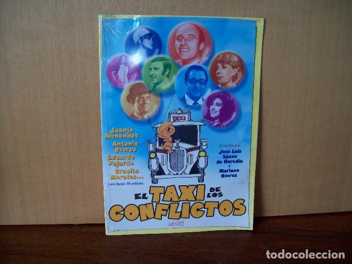 EL TAXI DE LOS CONFLICTOS - JUANJO MENENDEZ - GRACITA MORALES - DVD ESTUCHE CARTON PRECINTADO (Cine - Películas - DVD)
