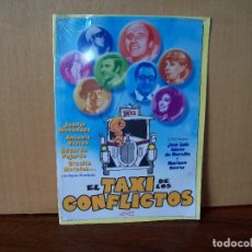 Cine: EL TAXI DE LOS CONFLICTOS - JUANJO MENENDEZ - GRACITA MORALES - DVD ESTUCHE CARTON PRECINTADO. Lote 288642793