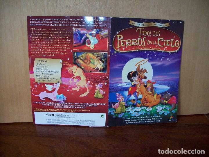 TODOS LOS PERROS VAN AL CIELO - DIRIGIDA POR DON BLUTH - DVD ESPECIAL 20 AN. ESTUCHE CARTON (Cine - Películas - DVD)