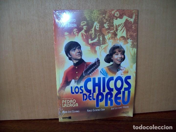 LOS CHICOS DEL PREU - KARINA - CAMILO SESTO - DVD ESTUCHE CARTON NUEVO PRECINTADO (Cine - Películas - DVD)