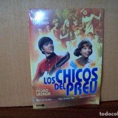 Cine: LOS CHICOS DEL PREU - KARINA - CAMILO SESTO - DVD ESTUCHE CARTON NUEVO PRECINTADO. Lote 288643318