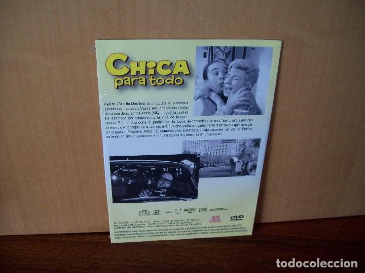 Cine: CHICA PARA TODO - GRACITA MORALES - JOSE LUIS L. VAZQUEZ - DVD ESTUCHE CARTON PRECINTADO - Foto 2 - 288643773