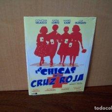 Cine: LAS CHICAS DE LA CRUZ ROJA - CONCHA VELASCO - DVD ESTUCHE DE CARTON NUEVO PRECINTADO. Lote 288644018