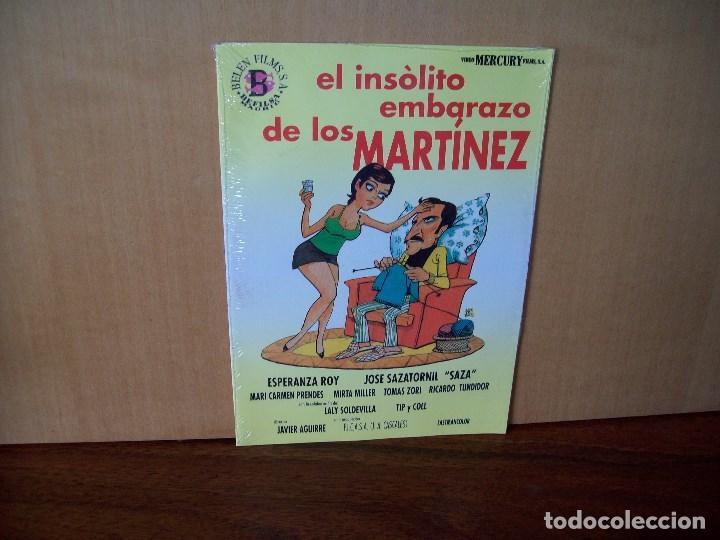 EL INSOLITO EMBARAZO DE LOS MARTINEZ - ESPERANZA ROY - SAZA - DVD ESTUCHE CARTON PRECINTADO (Cine - Películas - DVD)