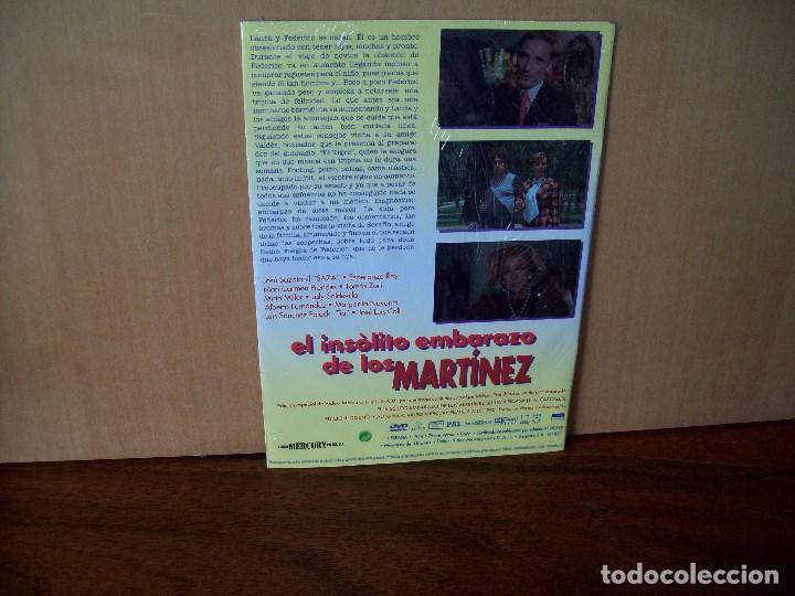 Cine: EL INSOLITO EMBARAZO DE LOS MARTINEZ - ESPERANZA ROY - SAZA - DVD ESTUCHE CARTON PRECINTADO - Foto 2 - 288644523