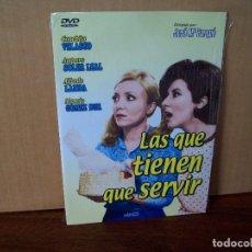 Cine: LAS QUE TIENEN QUE SERVIR - CONCHITA VELASCO - ALFREDO LANDA - DVD ESTUCHE CARTON PRECINTADO. Lote 288644803