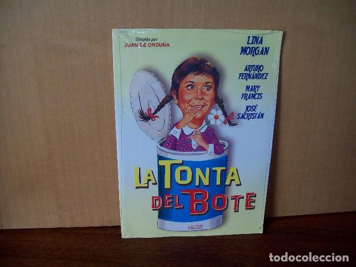 LA TONTA DEL BOTE - LINA MORGAN - ARTURO FERNANDEZ - DVD ESTUCHE CARTON PRECINTADO (Cine - Películas - DVD)