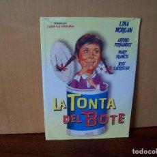 Cine: LA TONTA DEL BOTE - LINA MORGAN - ARTURO FERNANDEZ - DVD ESTUCHE CARTON PRECINTADO. Lote 288645698