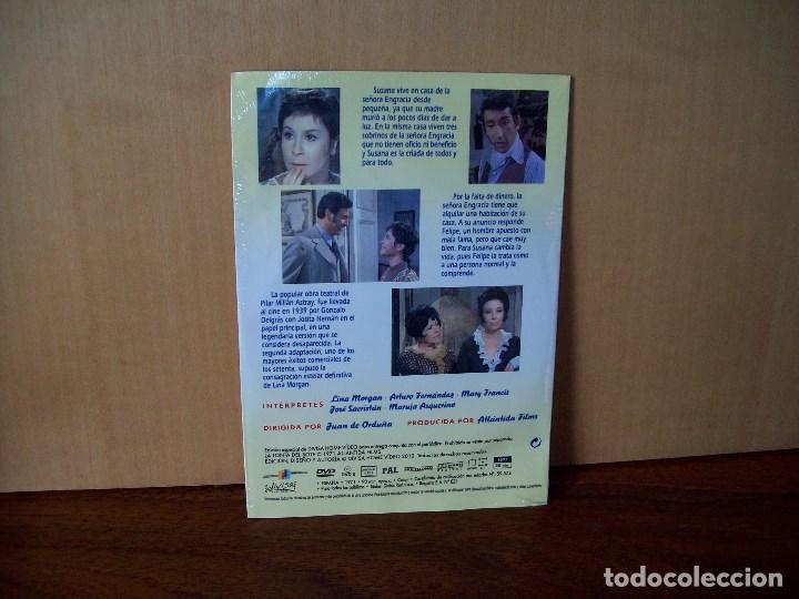 Cine: LA TONTA DEL BOTE - LINA MORGAN - ARTURO FERNANDEZ - DVD ESTUCHE CARTON PRECINTADO - Foto 2 - 288645698