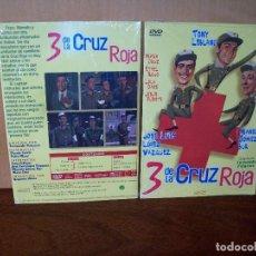 Cine: 3 DE LA CRUZ ROJA - TONY LEBLANC - JOSE LUIS LOPEZ VAZQUEZ - DVD ESTUCHE CARTON PRECINTADO. Lote 288646103