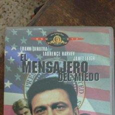 Cine: EL MENSAJERO DEL MIEDO - JOHN FRANKENHEIMER - FRANK SINATRA, LAURENCE HARVEY - MGM 2001. Lote 288687718
