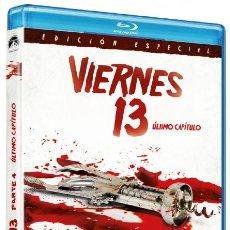 Cine: VIERNES 13 - PARTE 4 (ÚLTIMO CAPÍTULO) - BD [BLU-RAY]. Lote 288729393