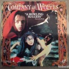 Cine: THE COMPANY OF WOLVES (EN COMPAÑÍA DE LOBOS) (1984) - LASERDISC. Lote 288741133