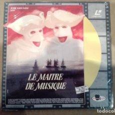 Cine: LE MAITRE DE MUSIQUE (EL MAESTRO DE MÚSICA) - LASERDISC. Lote 288741373