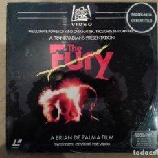 Cine: THE FURY (LA FURIA) - LASERDISC. Lote 288741683