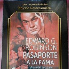 Cine: PASAPORTE A LA FAMA. ( JOHN FORD,1935)EDICC.COLECCIONISTA/ LIBRETO.. Lote 288741723