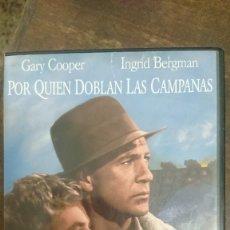 Cine: POR QUIEN DOBLAN LAS CAMPANAS - SAM WOOD - GARY COOPER, INGRID BERGMAN - UNIVERSAL 2003. Lote 288949643