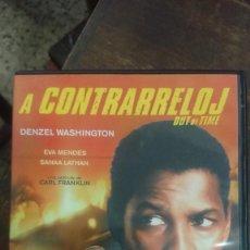 Cine: A CONTRARRELOJ (OUT OF TIME) - CARL FRANKLIN - DENZEL WASHINGTON, EVA MENDES - DIVISA 2008. Lote 288950423