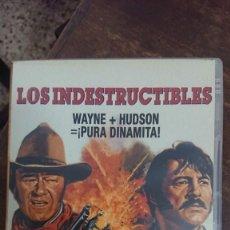 Cine: LOS INDESTRUCTIBLES - ANDREW V. MCLAGLEN - JOHN WAYNE, ROCK HUDSON - FOX 2006. Lote 288951103