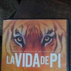 Cine: LA VIDA DE PI - ANG LEE - SURAJ SHARMA, IRRFAN KHAN - FOX 2013. Lote 288954523