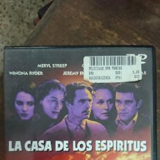 Cine: LA CASA DE LOS ESPIRITUS - BILLE AUGUST - JEREMY IRONS, WINONA RYDER - LAUREN FILMS 2000. Lote 288968453