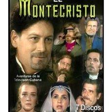 Cine: EL CONDE DE MONTECRISTO TELENOVELA - 7 DVD NUEVOS Y PRECINTADOSJORGE ALÍ,JOSÉ ANTONIO RODRÍGUEZ. Lote 289002873