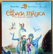Cine: TODODVD: LA ESPADA MÁGICA. EN BUSCA DE CAMELOT (1998).. Lote 289027528