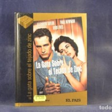 Cine: LA GATA SOBRE EL TEJADO DE ZINC - DVD. Lote 289211918