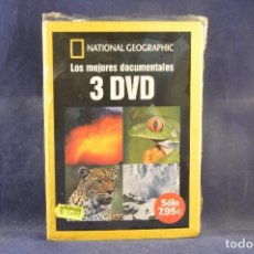 Cine: NATIONAL GEOGRAPHIC - LOS MEJORES DOCUMENTALES - 3 DVD. Lote 289212468