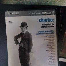 Cine: CHARLIE: VIDA Y OBRA DE CHARLES CHAPLIN. Lote 289253443