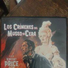 Cine: LOS CRÍMENES DEL MUSEO DE CERA - INCLUYE LOS CRÍMENES DEL MUSEO MICHAEL CURTIZ 1933 - VINCENT PRICE. Lote 289294188